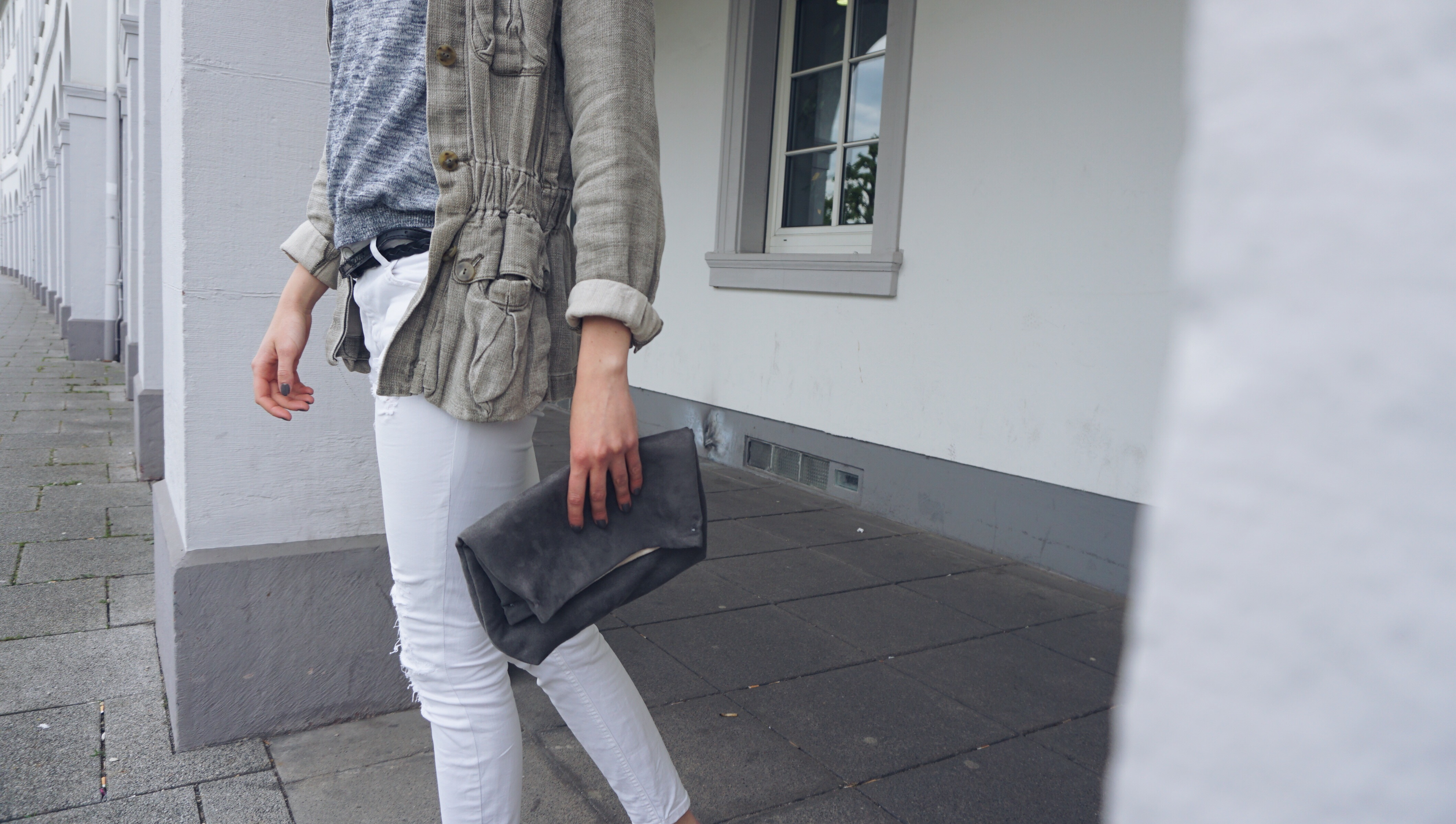 Sommeroutfit Clutch