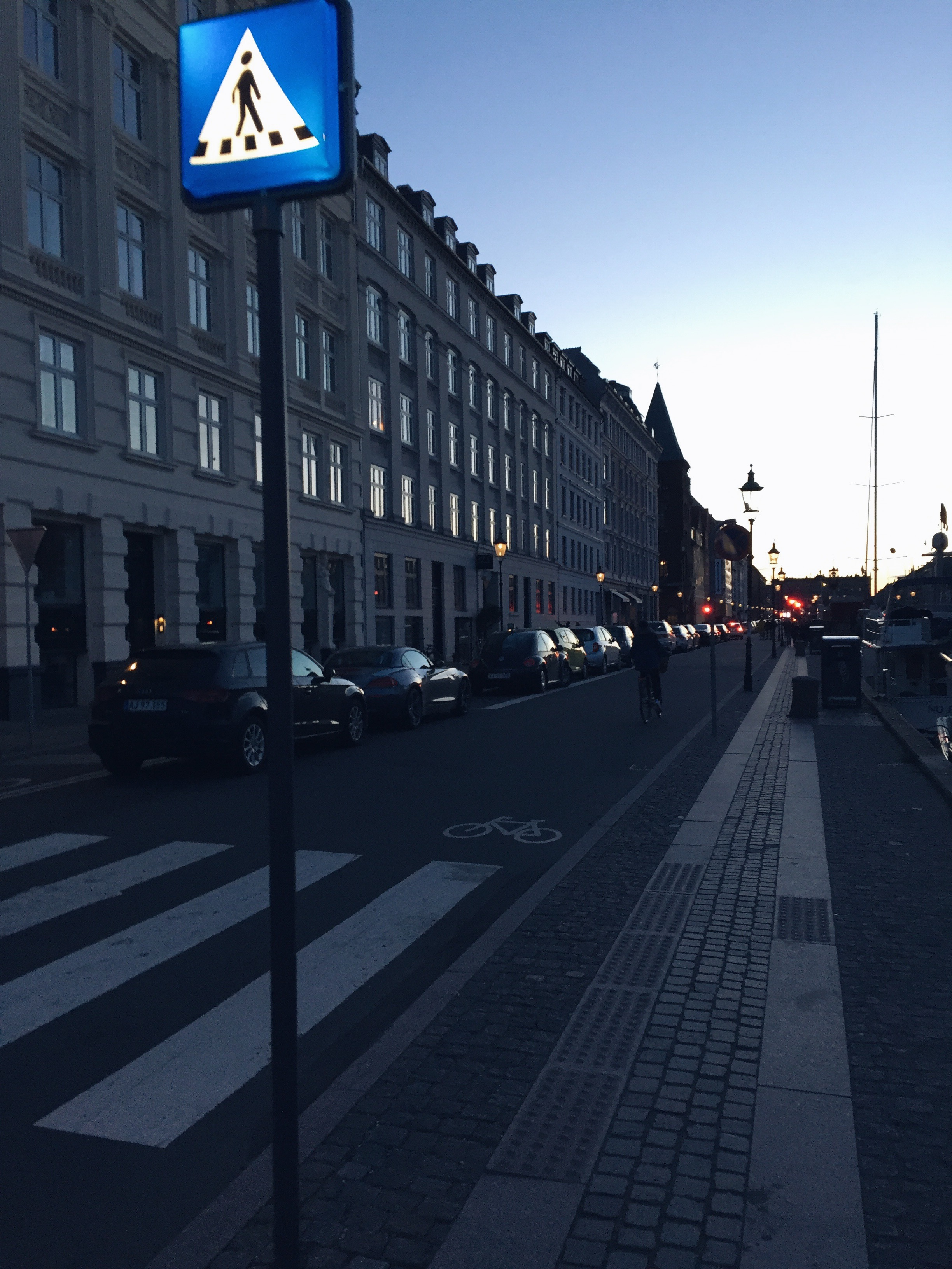 Straßen von Kopenhagen