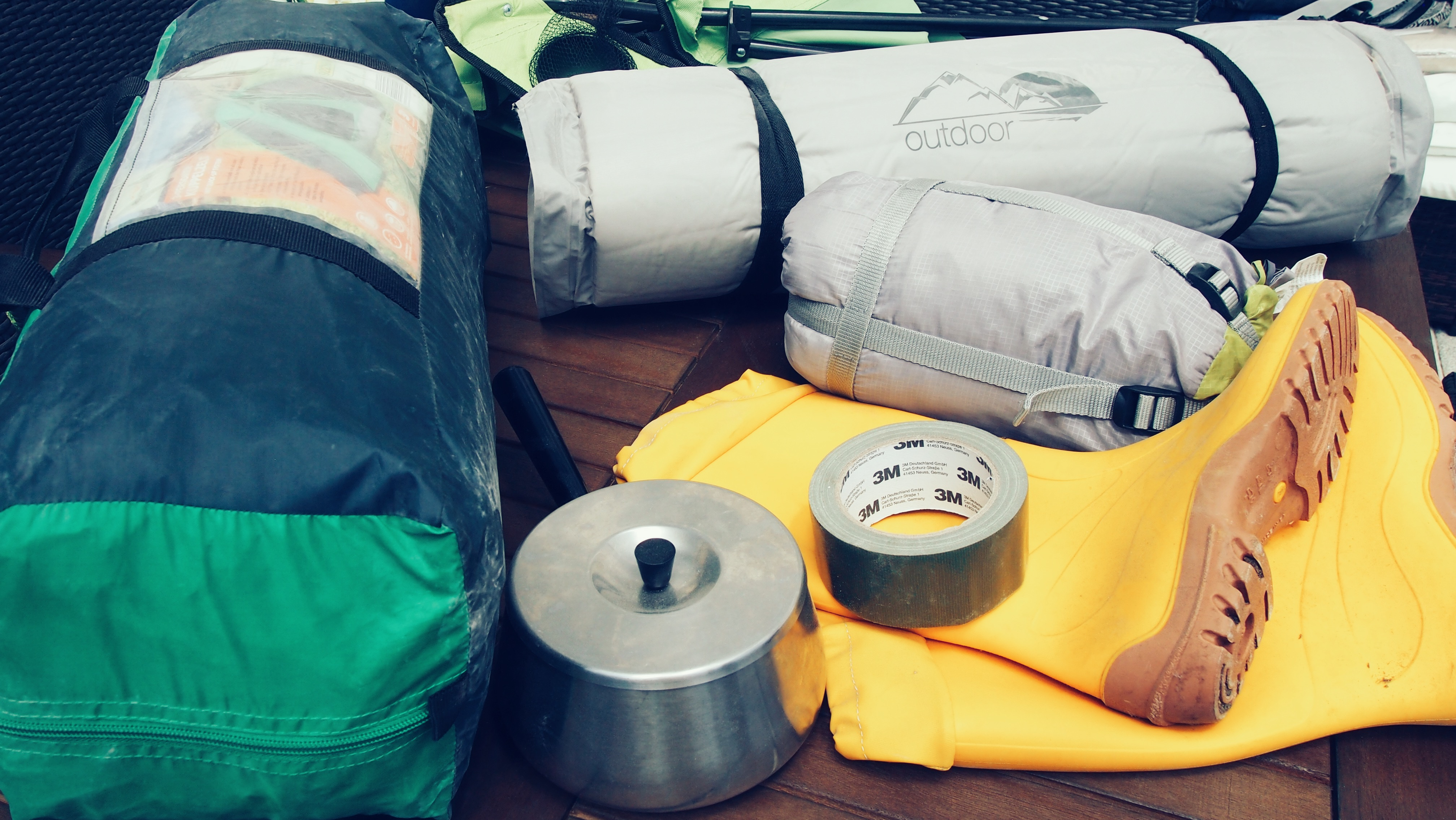 Packen für Festival
